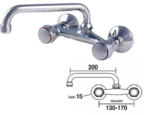 MECHLINE CaterTap 1/2-inch Wall-Mounted Mixer Tap