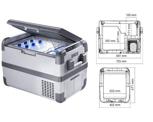 Dometic-Waeco Portable fridge/freezer -22°C to + 10° CFX 50