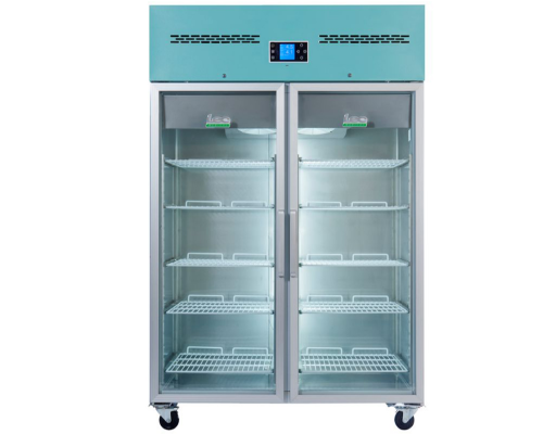 Lec Pharmacy Refrigerator Glass Door 1200L - PGR1200UK