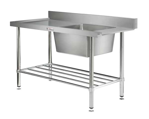 Simply Stainless SS081200L Dishwash Table